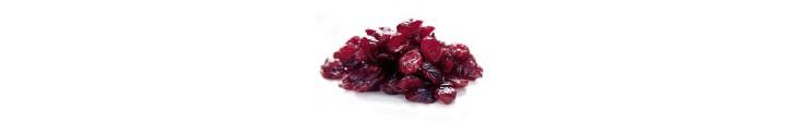 Draied Cranberries pieces